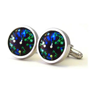 We Came To Disco Dance Round Cufflinks