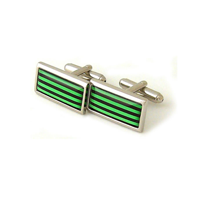 Green Humbug Cufflinks