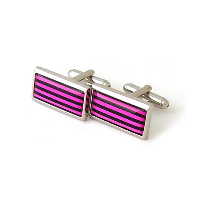 Pink Humbug Cufflinks