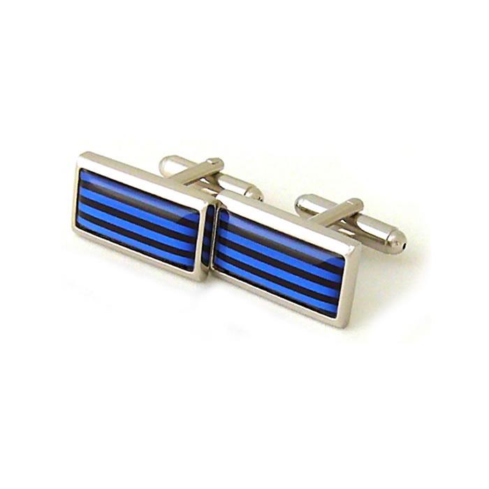 Blue Humbug Cufflinks