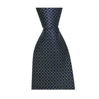 Black Chain Tie