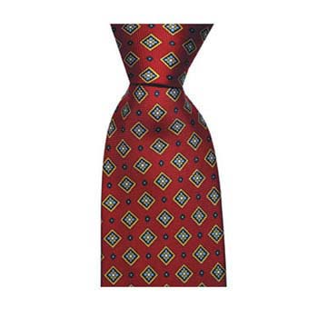 Red Diamond Style Tie