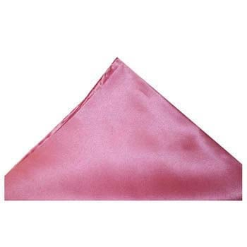 Pink Silk Hankie