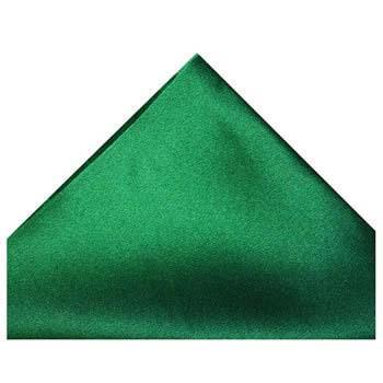 Racing Green Silk Hankie