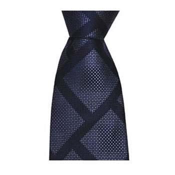Navy Blue Square Block Tie