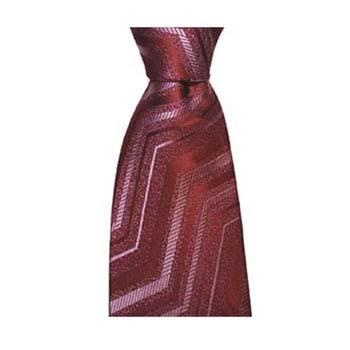 Red Zig Zag Tie