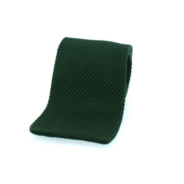 Racing Green Straight Cut Tie