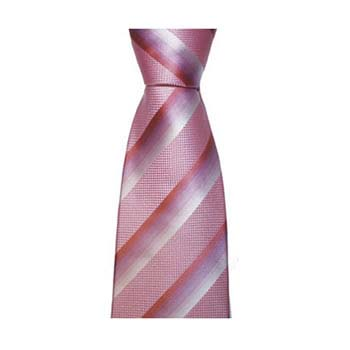 Pink Shaded Stripe Tie