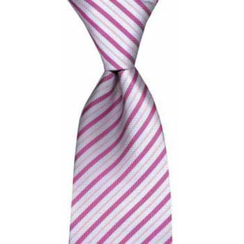 Pink And Lilac Stripe Tie