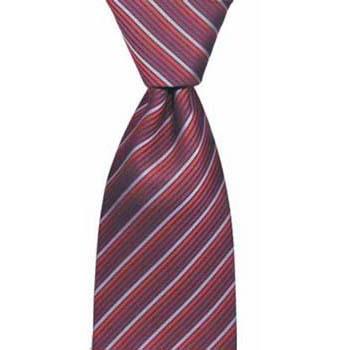 Red Assorted Stripe Tie