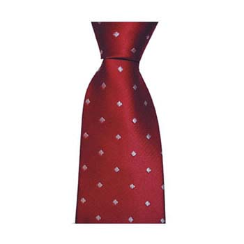 Red And Blue Diamond Tie