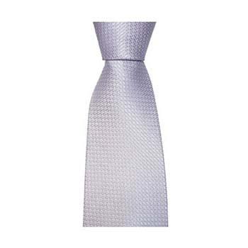 Lilac Small Square Check Tie