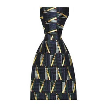 Navy Blue Cricket Tie