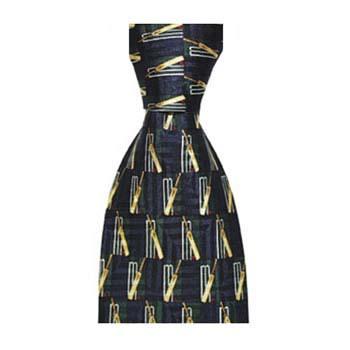 Navy Blue Cricket Tie