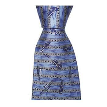 Blue Jazz Tie