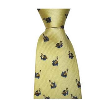 Yellow Grouse Style Tie
