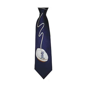 Navy Blue Computer Mouse Tie