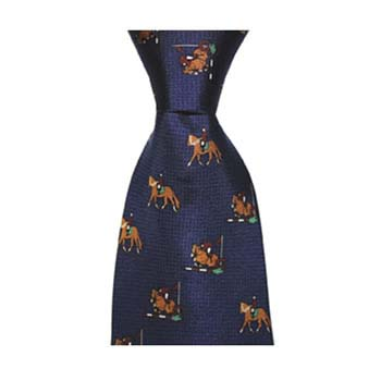 Blue Show Jumping Tie
