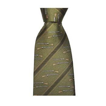 Green Shotguns Tie