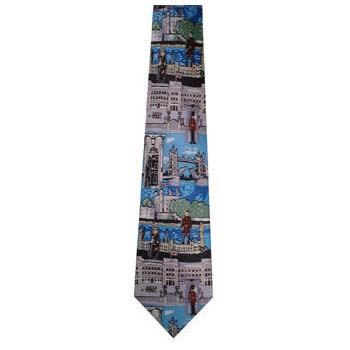 Blue Pigs Tie Sights Of London Tie