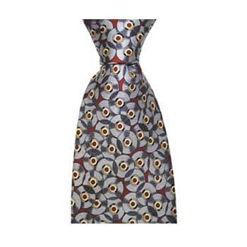 Grey Record Tie