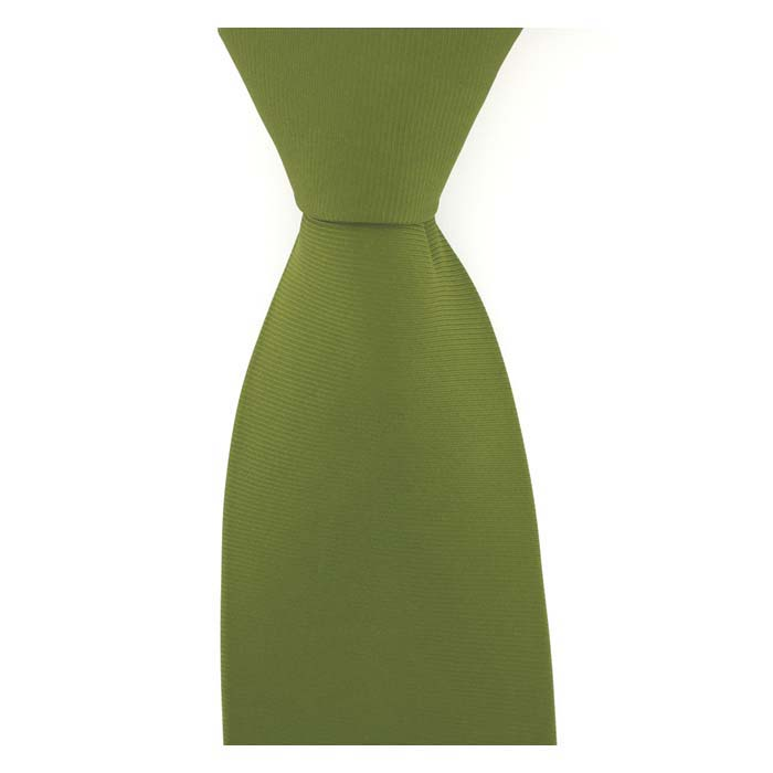 Light Country Green Solid Colour Tie