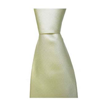 Ivory Solid Colour Tie