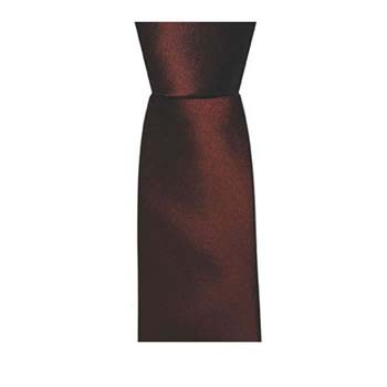 Claret Solid Coloured Tie