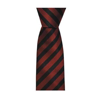 Blue And Red Thin Striped Tie