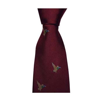 Red Flying Duck Tie