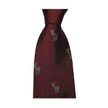 Red Reindeer Tie