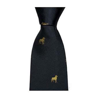 Navy Gun Dog Style Tie