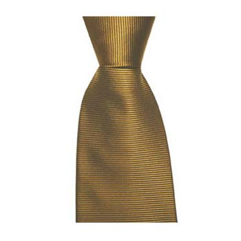Burnt Orange Horizontal Ribbed Tie
