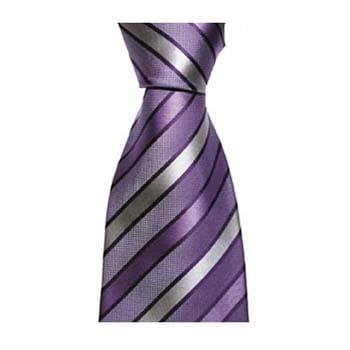 Purple Shades Diagonal Stripe Tie