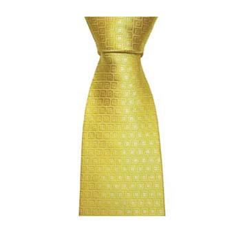 Gold Square Tie