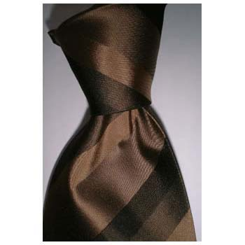 Brown Stripes Tie