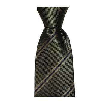 Green Stripe Tie