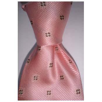 Pink Squares Tie