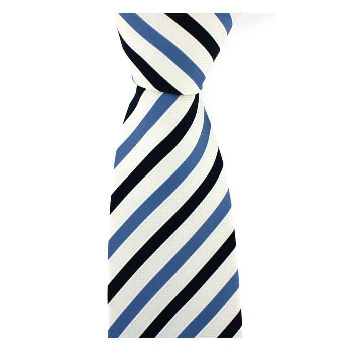 Bleu Shades Stripe Tie