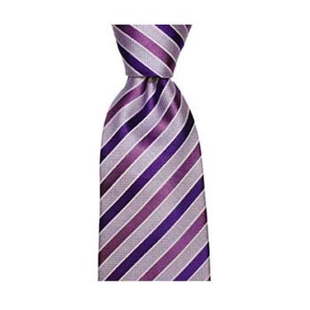 Purple Shades Stripe Tie