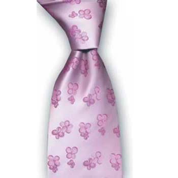 Light Pink Flowers Tie