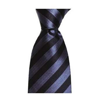 Navy Blue Thin Stripe Tie