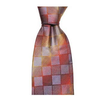Red And Blue Square Tie