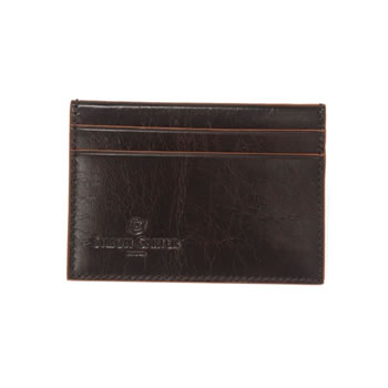 Brown Cinnamon Edge Credit Card Holder