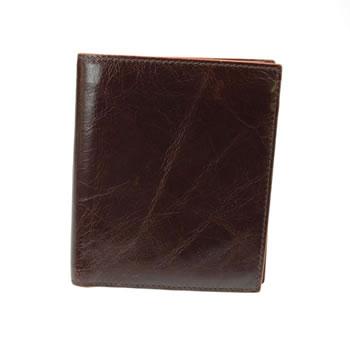 Brown Cinnamon Edge Travel Card Wallet