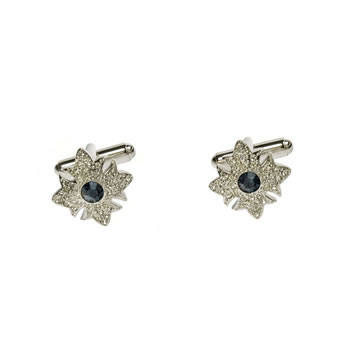 Midnight Garter Star Cufflinks
