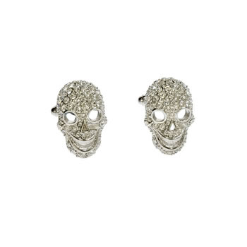 Tattoo Skull Cufflinks