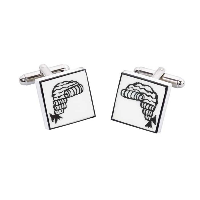 Judges Wig Cufflinks