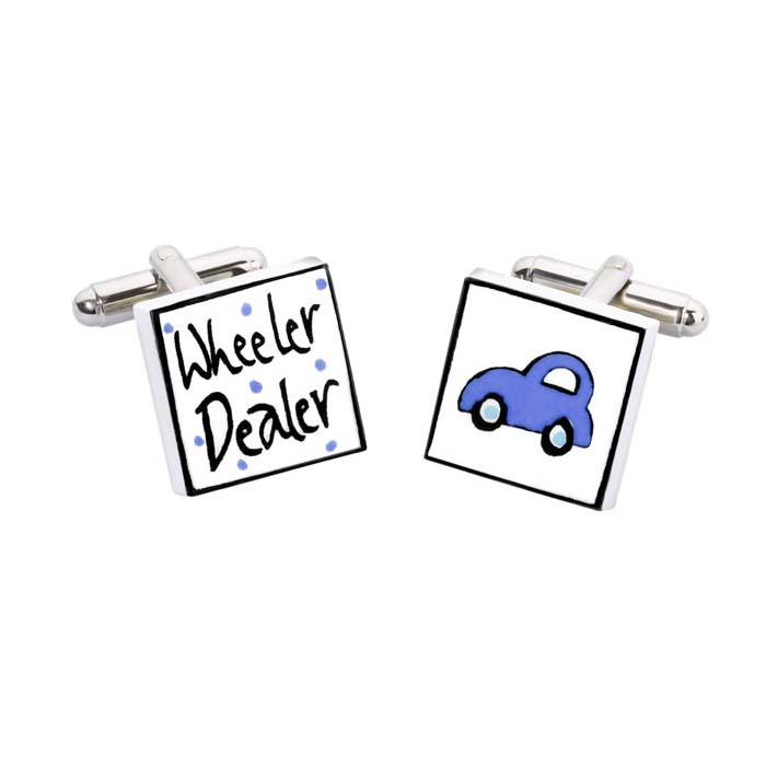 Wheeler Dealer Cufflinks