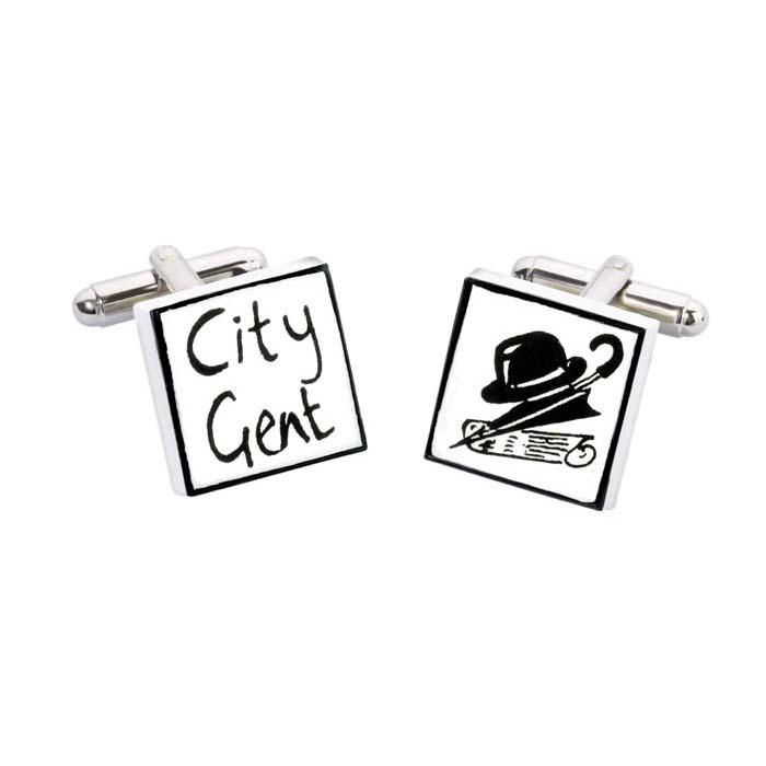 City Gent Cufflinks